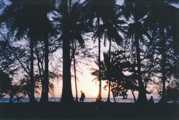タオ島の夕焼け