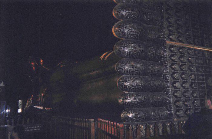 ワット・ポーの寝釈迦像の足の裏