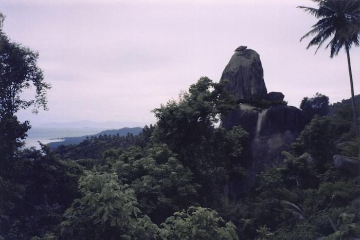 サムイ島の頂上