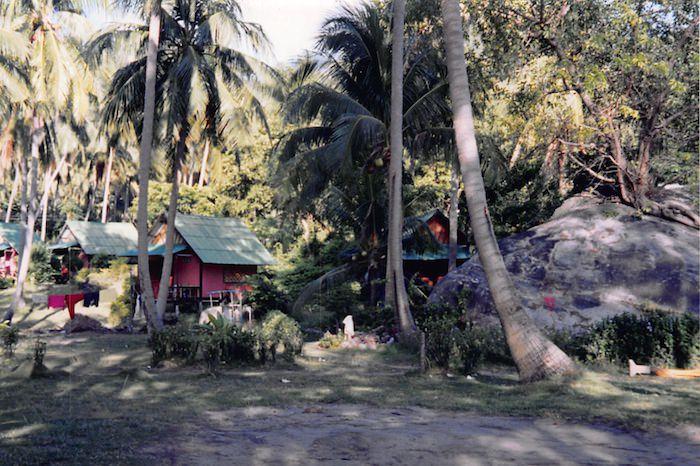 タオ島のバンガロー
