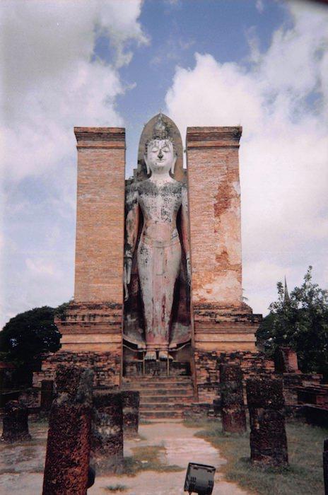 スコータイの仏像