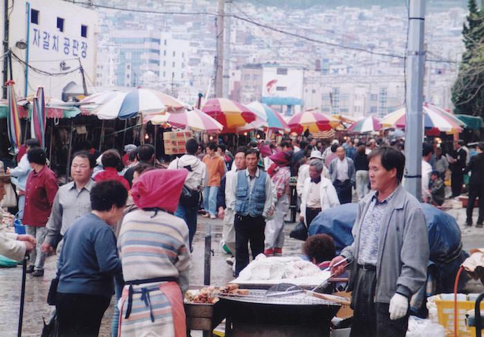 釜山の市場