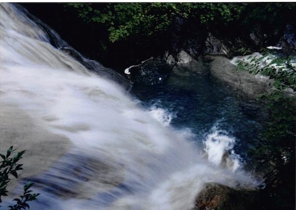 乗鞍高原にある滝