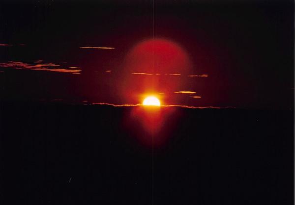 乗鞍高原から見る朝日