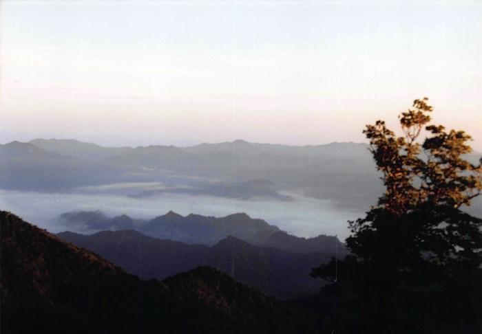 日出ヶ岳で見る雲海