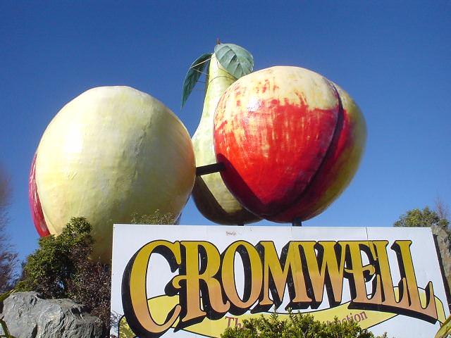 リンゴの看板 - クロムウェル