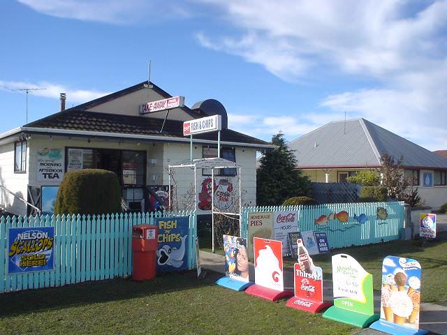 NZで一番美味しいフィッシュ・アンド・チップスのお店「Lockies」