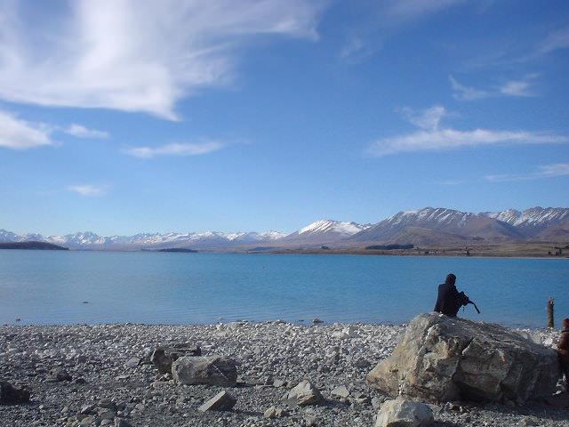 テカポ湖 - ニュージーランド