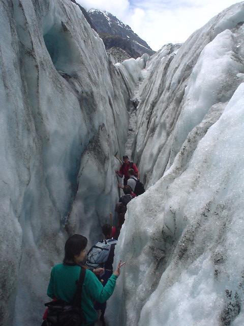 フォックス氷河のガイド付きウォーク - ニュージーランド
