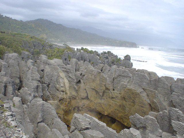 パンケーキ・ロック - プナカイキ - ニュージーランド