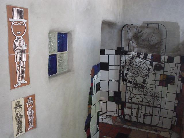 フンダートヴァッサーの公衆トイレ - カワカワ