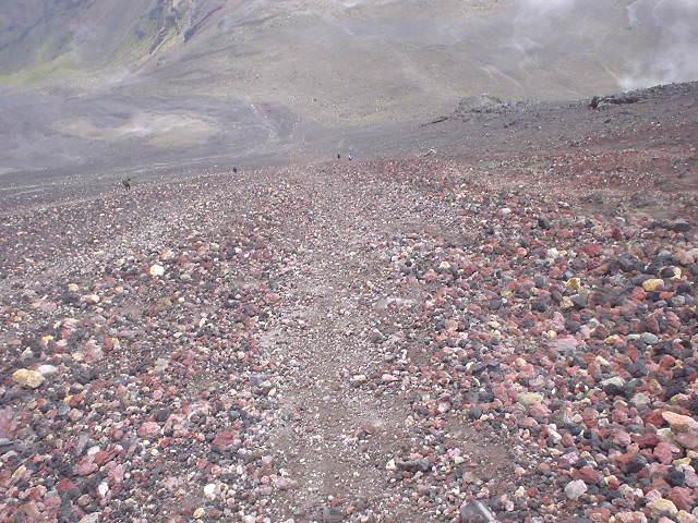 ナウルホウイ山 - トンガリロ・ノーザン・サーキット - NZトレッキング