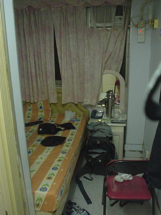 重慶大厦の部屋