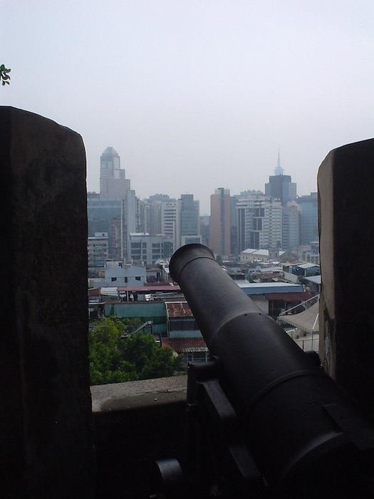 モンテの砦の大砲