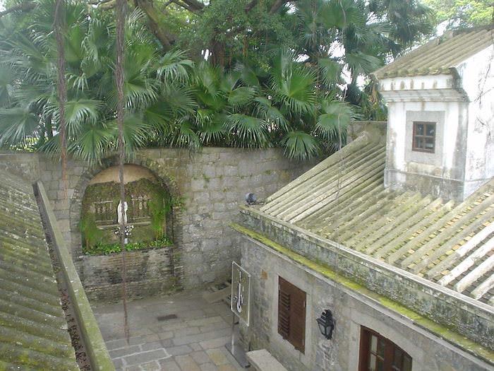 モンテの砦の内部
