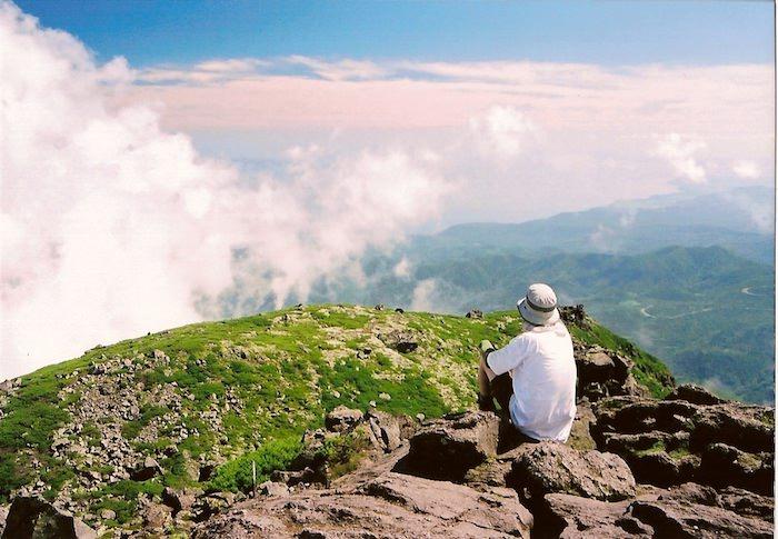 羅臼岳山頂からの景色
