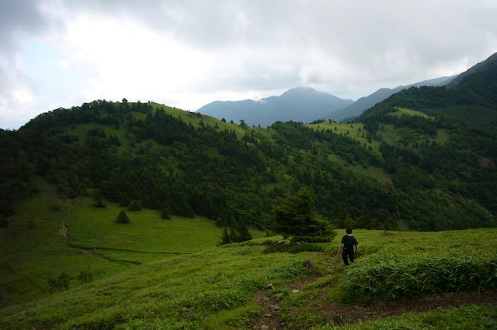 大菩薩峠から下山