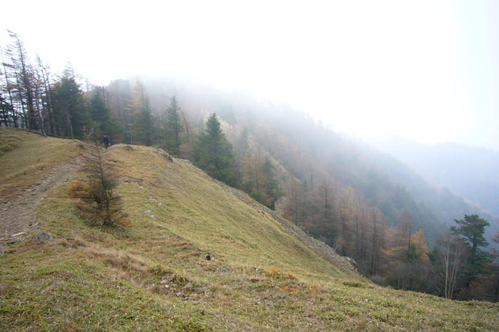 雲取山から石尾根