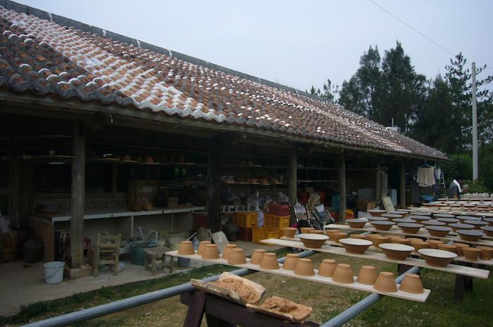 焼き物の工房