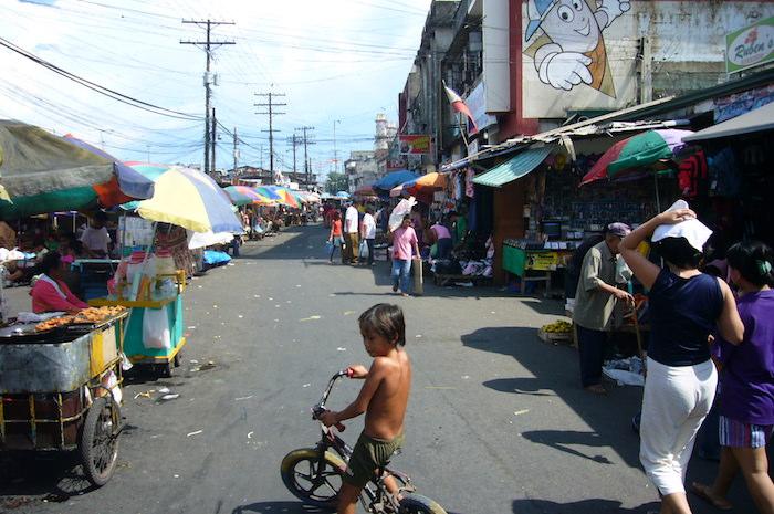 セブ島の市場
