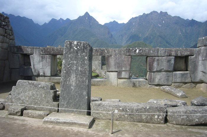 マチュピチュ遺跡3つの窓の神殿