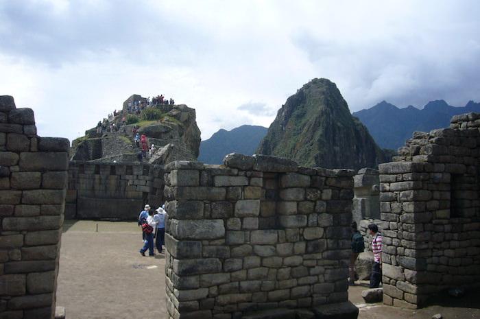 マチュピチュ遺跡の神殿