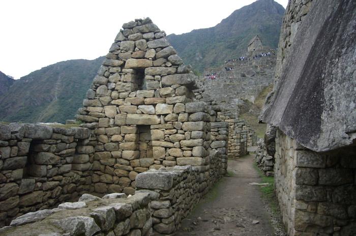 マチュピチュ遺跡の居住区