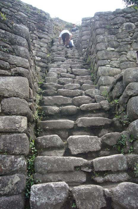 ワイナピチュ山頂の遺跡