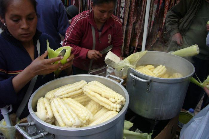 ペルーの大粒トウモロコシ