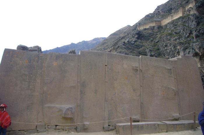 オリャンタイタンボ 6個の巨石