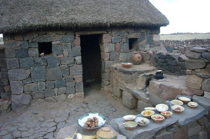 アイマラ族の民家