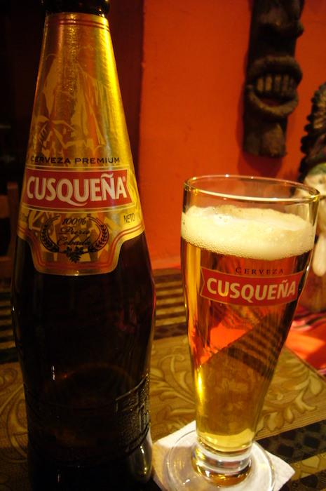 クスコのビール「クスケーニャ」
