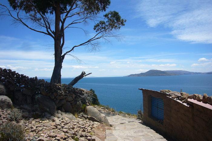 タキーレ島からの景色