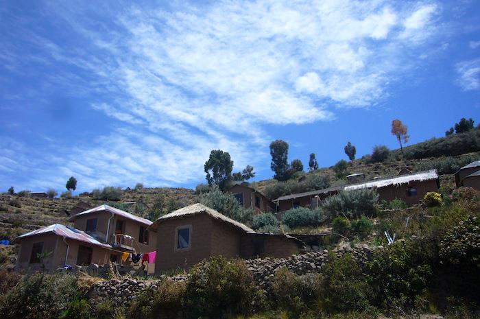 タキーレ島の住居