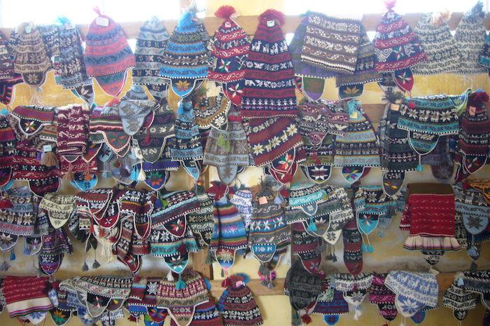 タキーレ島の織物