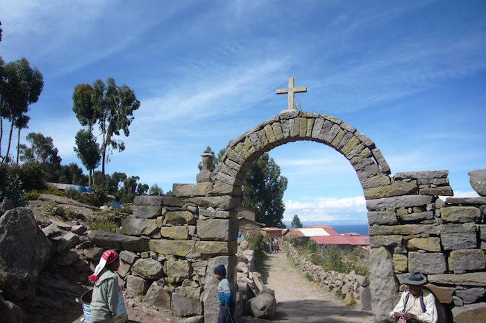 タキーレ島の石門