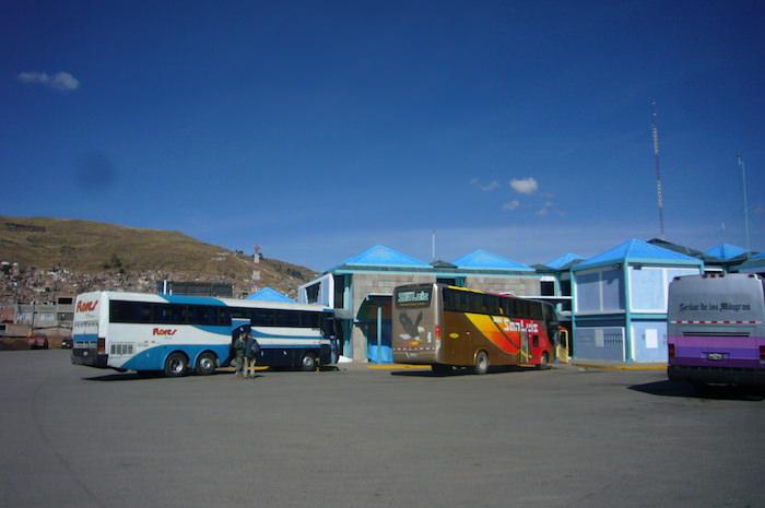 プーノからアレキパへのバス