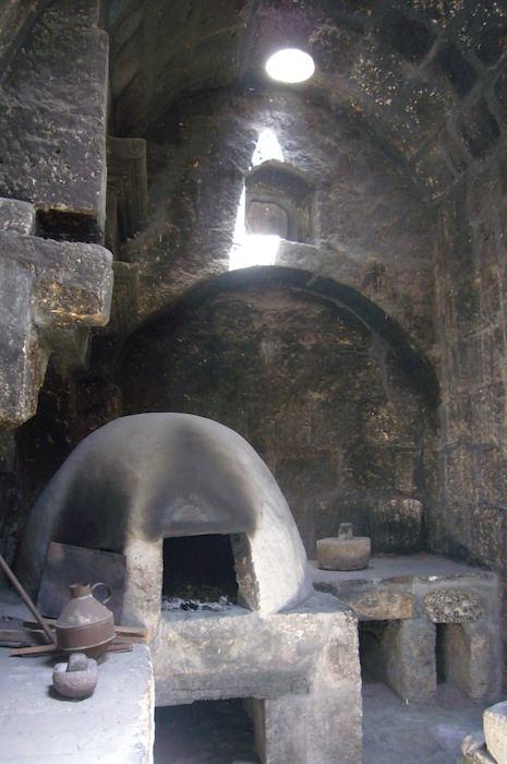 サンタ・カリナ修道院の釜戸
