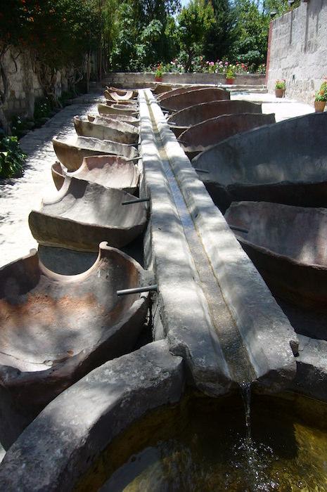 サンタ・カリナ修道院の水路