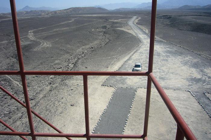 パルパの地上絵の展望台
