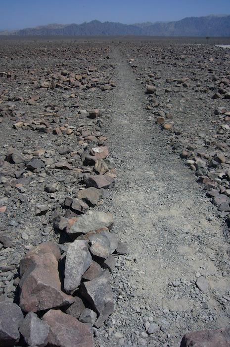 ナスカの地上絵の線