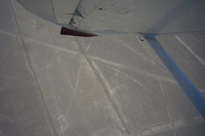 ナスカの地上絵フライト