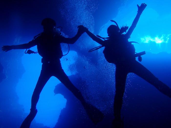 ブルーホール - パラオダイビング