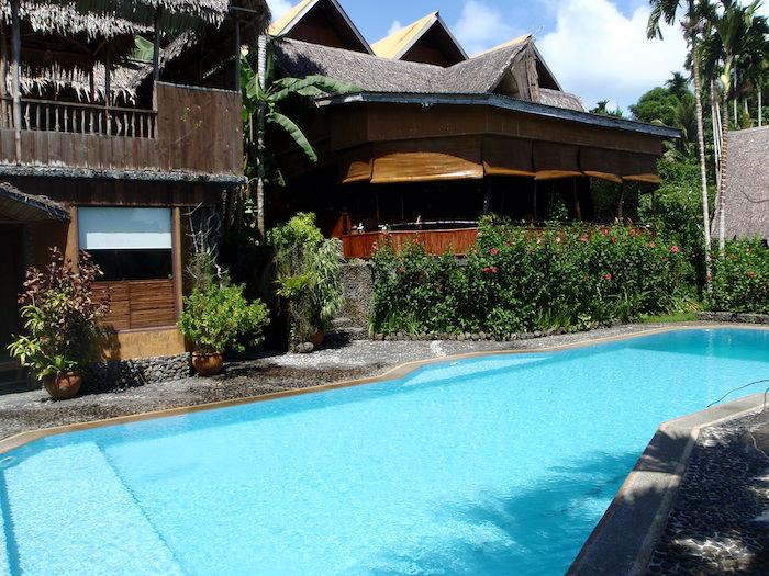 パラオ プランテーションリゾートのプール