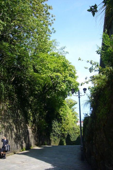 坂道の多い長崎