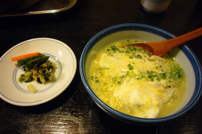 ふぐ鍋の雑炊