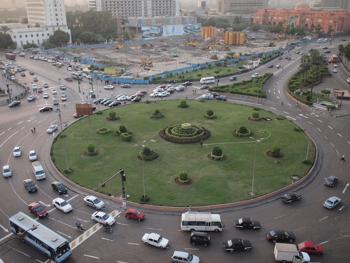 タフリール広場
