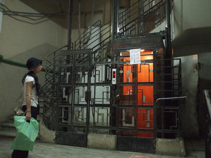 カイロのホテル「Ismailia House Hotel」のエレベーター