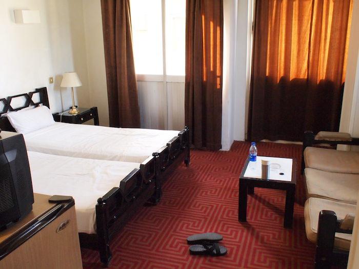 アスワンのホテル「クレオパトラ(Cleopatra Hotel)」