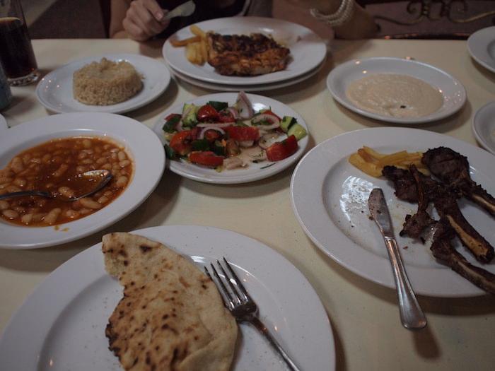 アスワン「El Masry」で食べたコース料理